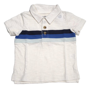 Playera tipo polo Baby Gap Hueso