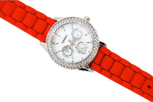 Reloj Fossil Red Diamods