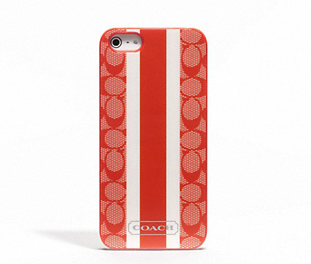 Funda para iPhone 5 o 5S Coach Signature