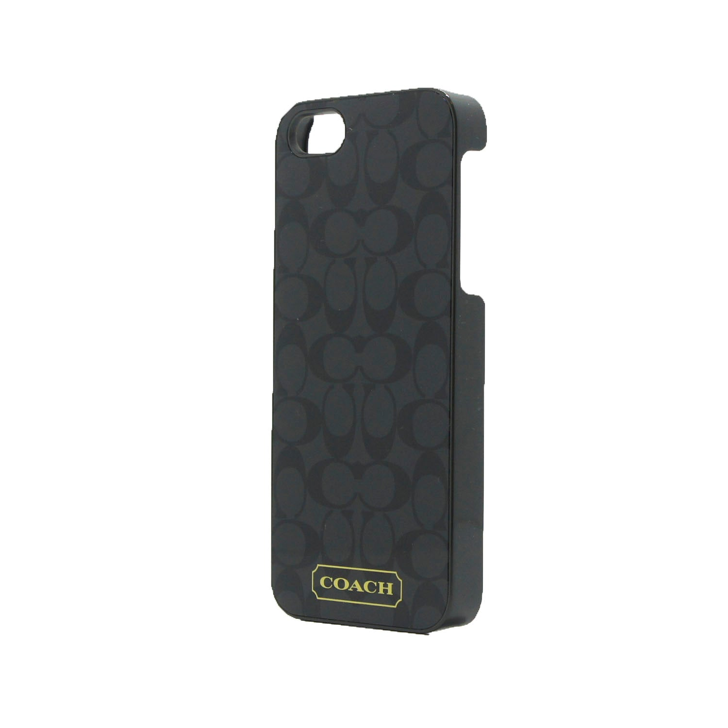 Funda Para iPhone 5 o 5s Coach Signature Black