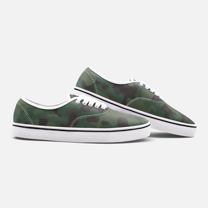 Unisex Canvas Low Cut Loafer Sneakers - Camouflage