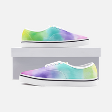 Charger l'image dans la galerie, Unisex Canvas Low Cut Loafer Sneakers - Watercolor
