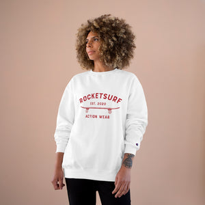 Champion Sweatshirt - RocketSurf Skate Club Red Lettering