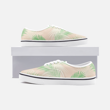 Load image into Gallery viewer, Unisex Canvas Low Cut Loafer Sneakers - Palm Leaves