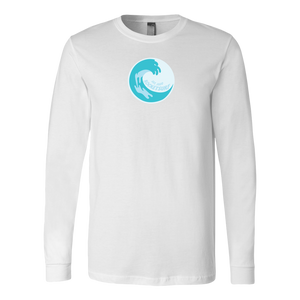 Long Sleeve Shirt Wave Logo