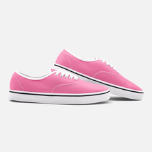 Load image into Gallery viewer, Unisex Canvas Low Cut Loafer Sneakers - Pink