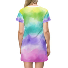 Load image into Gallery viewer, It's A Shore Thing T-Shirt Dress