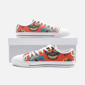 Unisex Low Top Canvas Shoes - DOD