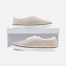 Load image into Gallery viewer, Unisex Canvas Low Cut Loafer Sneakers - Sand