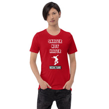 Load image into Gallery viewer, Unisex Skater Not Hater White Lettering