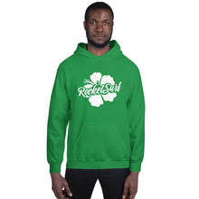Load image into Gallery viewer, Unisex Hoodie White Flower