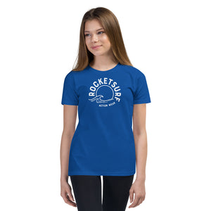 Youth Short Sleeve T-Shirt - Waves Logo