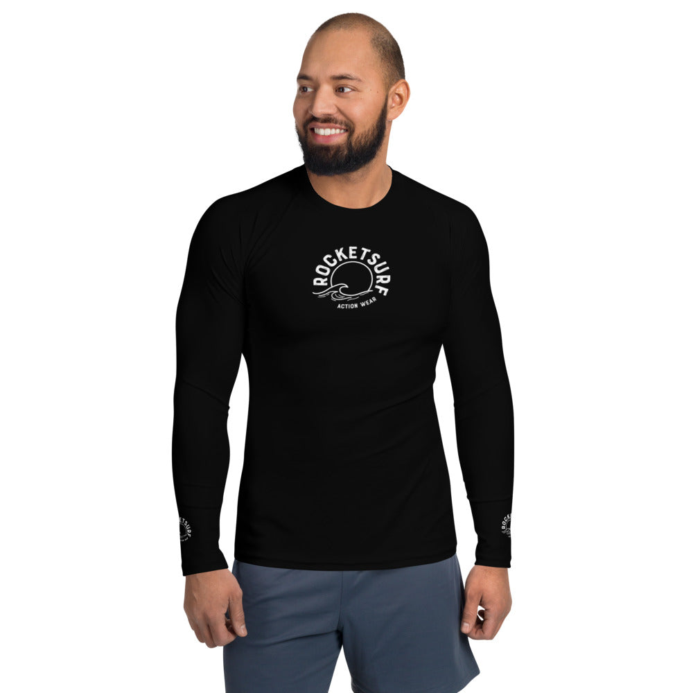 RocketSurf Men's Rash Guard - Shadow