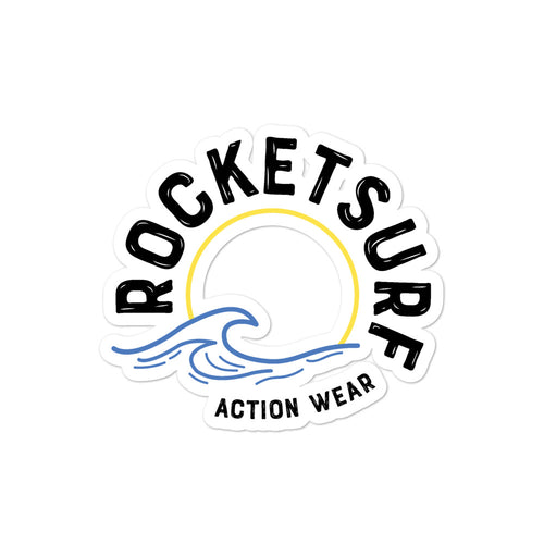 Bubble-free stickers - RocketSurf Wave