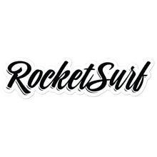 Load image into Gallery viewer, Surfboard Waterproof Vinyl Sticker - RocketSurf script logo