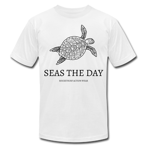 Seas The Day Unisex T-Shirt - white