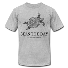Load image into Gallery viewer, Seas The Day Unisex T-Shirt - heather gray