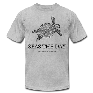 Seas The Day Unisex T-Shirt - heather gray