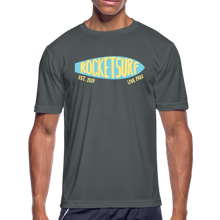 Carica l'immagine nel visualizzatore di Gallery, Men's Moisture Wicking Performance Skate T-Shirt - charcoal