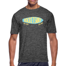 Carica l'immagine nel visualizzatore di Gallery, Men's Moisture Wicking Performance Skate T-Shirt - dark heather gray