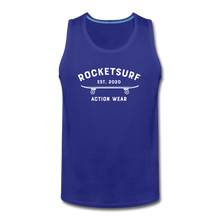 Load image into Gallery viewer, Men's Premium Tank - Skate - royal blue