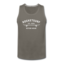 Load image into Gallery viewer, Men's Premium Tank - Skate - asphalt gray