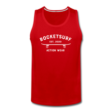 Load image into Gallery viewer, Men's Premium Tank - Skate - red