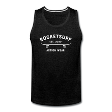 Load image into Gallery viewer, Men's Premium Tank - Skate - charcoal gray