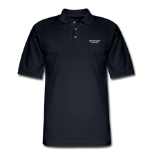 Load image into Gallery viewer, Men's Pique Polo Shirt - RocketSurf Logo - midnight navy