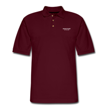 Load image into Gallery viewer, Men's Pique Polo Shirt - RocketSurf Logo - burgundy