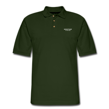 Load image into Gallery viewer, Men's Pique Polo Shirt - RocketSurf Logo - forest green