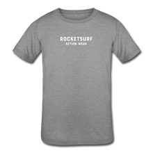 Load image into Gallery viewer, Kids' Tri-Blend T-Shirt - RocketSurf Logo - heather gray