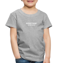 Load image into Gallery viewer, Toddler Premium T-Shirt - RocketSurf Logo - heather gray