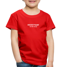 Load image into Gallery viewer, Toddler Premium T-Shirt - RocketSurf Logo - red