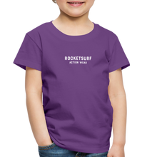 Load image into Gallery viewer, Toddler Premium T-Shirt - RocketSurf Logo - purple