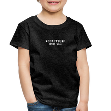 Load image into Gallery viewer, Toddler Premium T-Shirt - RocketSurf Logo - charcoal gray
