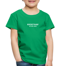Load image into Gallery viewer, Toddler Premium T-Shirt - RocketSurf Logo - kelly green