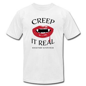 Creep It Real - Unisex T-Shirt - White - white