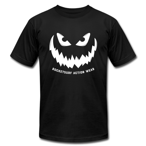 Horror Pumpkin - Unisex T-Shirt - Shadow - black