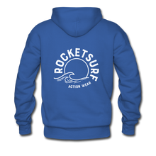 Load image into Gallery viewer, Life's A Beach Find Your Wave - Men's Hoodie - royal blue