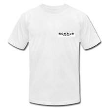 Load image into Gallery viewer, Live Free Live Now Unisex Jersey T-Shirt - white