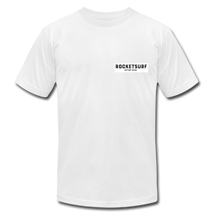 Live Free Live Now Unisex Jersey T-Shirt - white