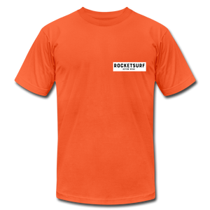 Live Free Live Now Unisex Jersey T-Shirt - orange