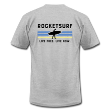 Load image into Gallery viewer, Live Free Live Now Unisex Jersey T-Shirt - heather gray