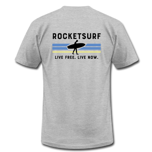 Live Free Live Now Unisex Jersey T-Shirt - heather gray