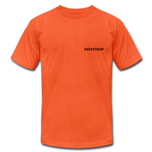 Load image into Gallery viewer, Live Free Live Now Unisex Jersey T-Shirt - orange