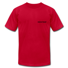 Load image into Gallery viewer, Live Free Live Now Unisex Jersey T-Shirt - red