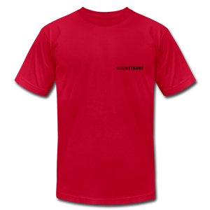Live Free Live Now Unisex Jersey T-Shirt - red