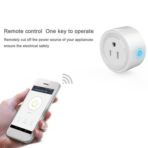 WiFi Smart Socket Power Monitor EU US UK Plug