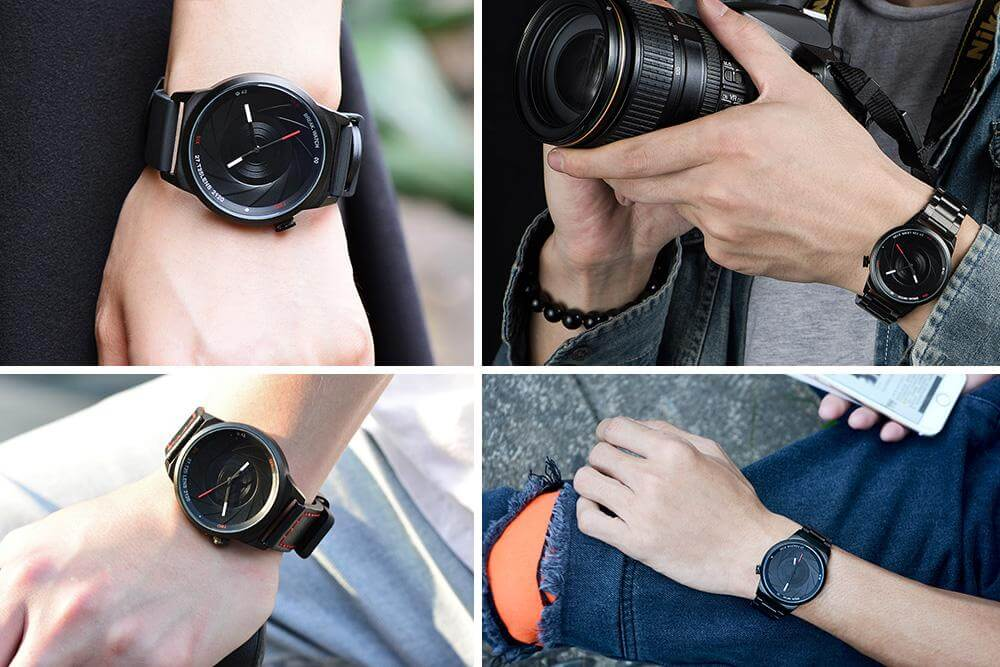 photographer series wristwatch Men Women Unisex